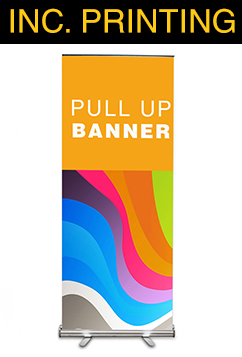 Pull Up Banner-Including Print
